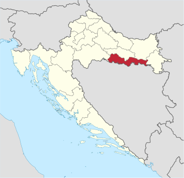 Brod Posavina County in Croatia